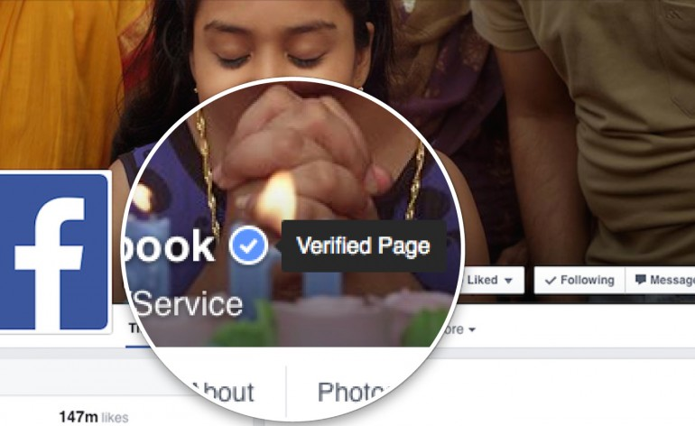 Como ganhar o selo de autenticação no Facebook