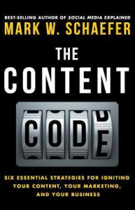 Livro The Content Code - Mark Schaefer