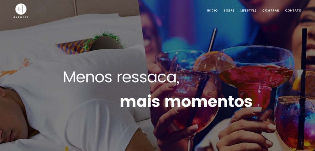 Site One More Drink | Site Responsivo | Agência Zíriga