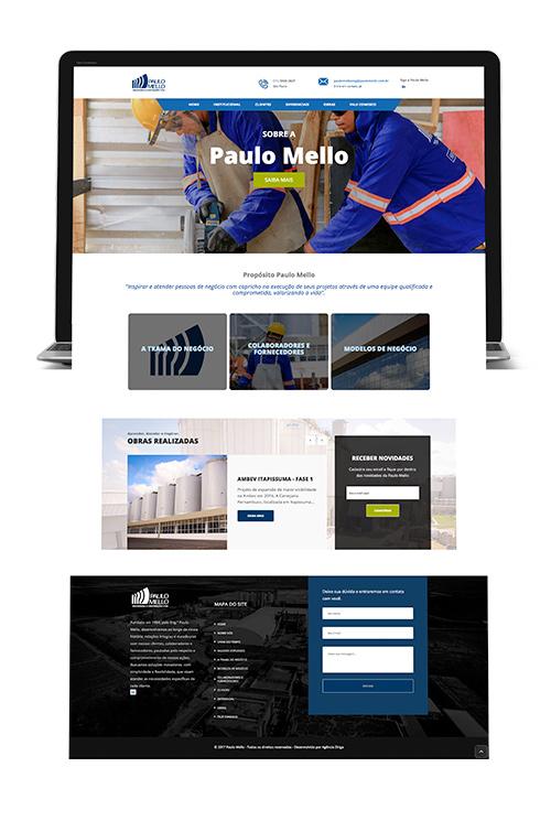 Paulo Mello | Desenvolvimento de site responsivo