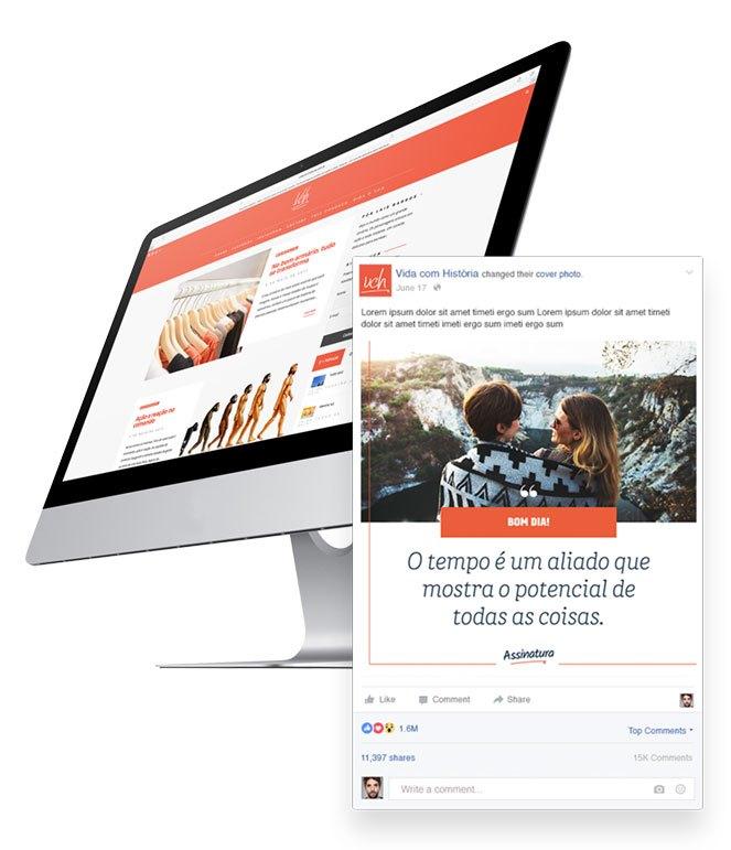 Blogs e Redes Sociais