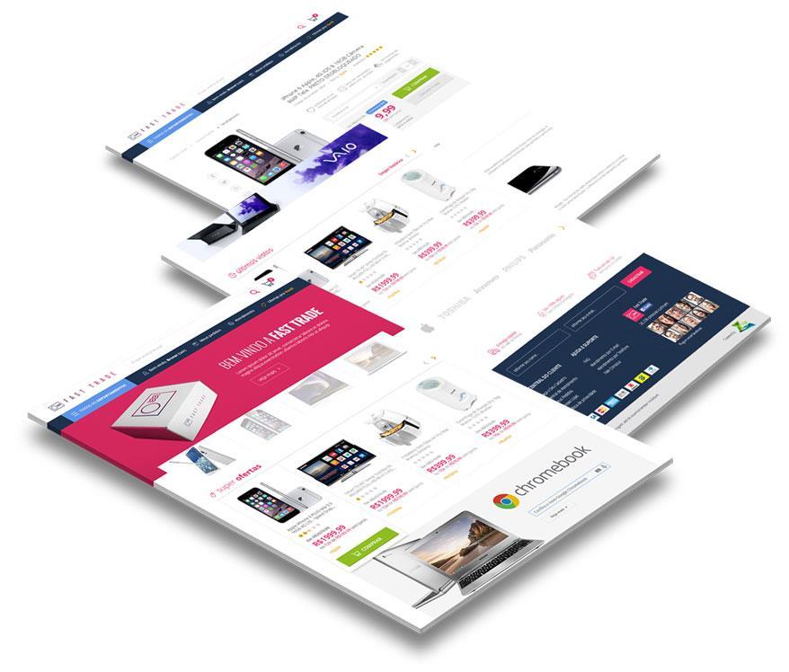 E-commerce <span>(Loja Virtual)</span>