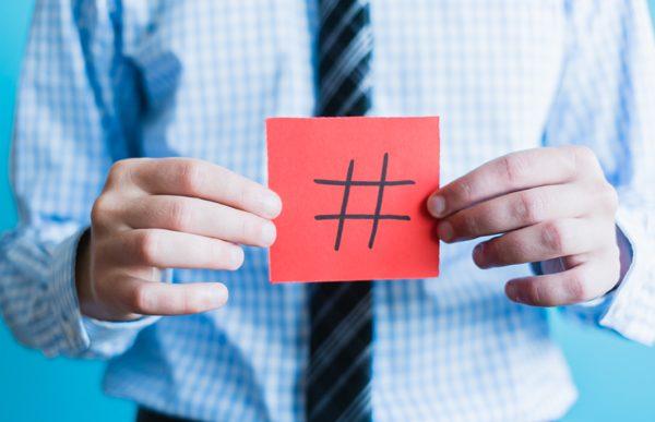 Hashtags podem posicionar seu negócio!