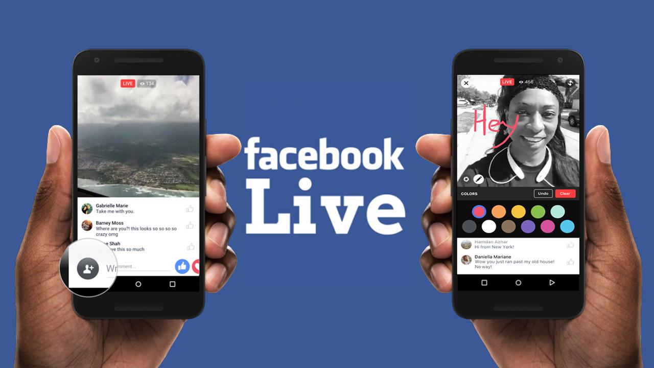 Facebook Live Map .